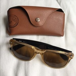 Ray-Ban two-tone sunglasses